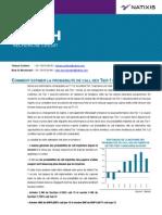 Banques Comment Estimer La Probabilite de Call Des Tier 1 Bancaires 06-07-10