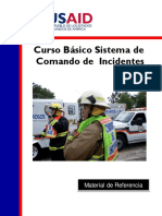 sistema comando de incidentes