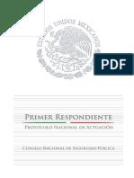 Protocolo Primer Respondiente