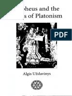Uzdavinys, A. (2010) Orpheus and the Roots of Platonism