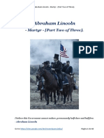 Abraham Lincoln - Martyr - [Part Two of Three]