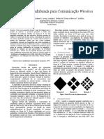 Artigo - Uma antena Multibanda para Comunicação Wireless