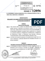 Ord 12056 Ord Hab de Negocios-locales Donde Se Desarrollan Activ Economicas