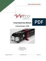 27438-X4 - Pump Head User Manual