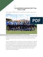 La Realidad de Los Mundialistas Hondureños Sub 17 2015
