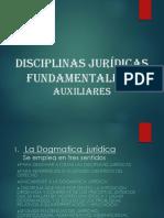 Disciplinas Jurídicas fundamentales
