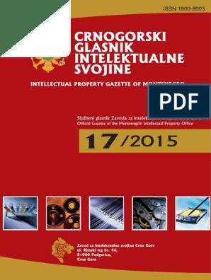 na wyprzedaży wyprzedaż resztek magazynowych szczegółowy wygląd Crnogorski glasnik intelektualne svojine 17