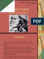 Teorias Sobre Evolucion