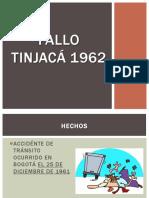 Fallo tinjacá 1962-1