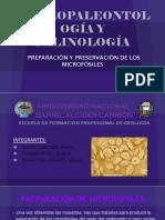 Preparacion y Preservacion de Microfosiles