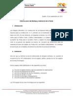 Informe Montaje Calibracion de Planta 2013