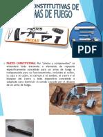 Partes constitutivas de las armas de fuego