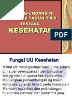 UU KESEHATAN  KU 26102015.ppt