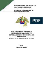 Reglamento de Practicas Pre-Profesionales 2012-MODIFICADO-COMPLETO