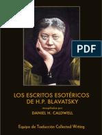 Blavatsky, Helena - Los Escritos Esotéricos