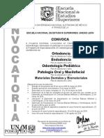 Convocatoria PEO 2019-1