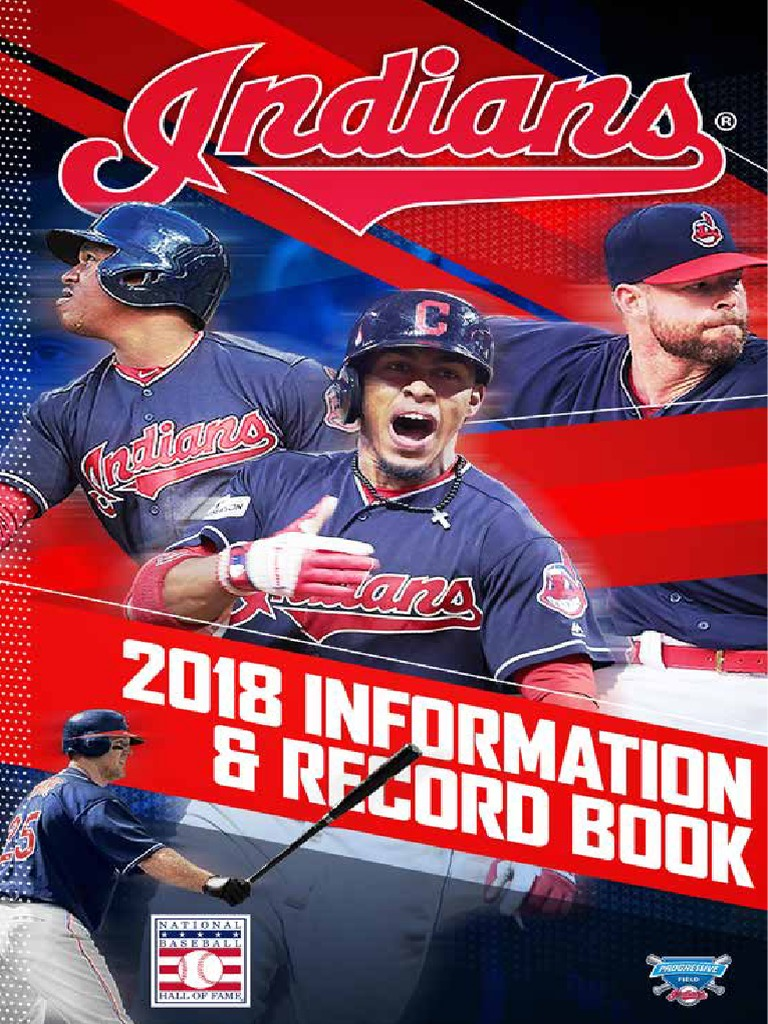 1efffe27 2018 CLE Media Guide | Cleveland Indians | Governing Bodies Of Baseball