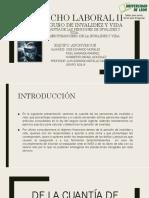 2.5. Cuantía de Las Pensiones de Invalidez y Vida. 2.6. EL REGIMEN FINANCIERO