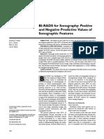 BI-RADS for Sonography VPP 2005