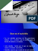 Depresiòn y Suicidio