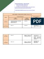 Cronograma Sistema Judicial y Proceso Civil 2017 2018