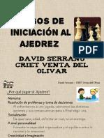 Ajedrez Criet Vo. David Serrano
