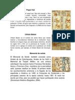 definición de diferentes libros de pueblos Popol Vuh