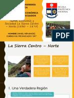 Sierra Centro - Norte