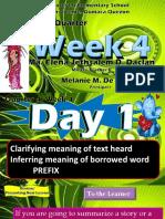 q4 Week 4 English 6 Day 1-5