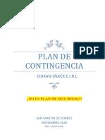 Plan de Contingencia Mli