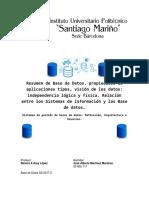 Monografía Tipos de BDD y SGBD 5%