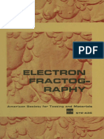 ASTM - STP436 Electron Fractography