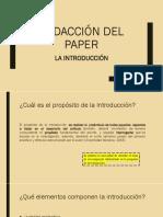 Redacción Del Paper - Parte I