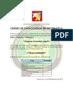 Certificado Final