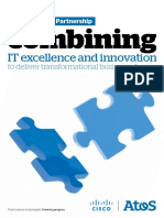 Cisco Brochure Combining It Excellence and Innovation
