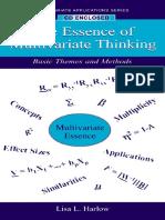 Essence of Multivariate Thinking - Basic Themes and Methods