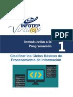 Introduccion a La Programacion Unidad 1