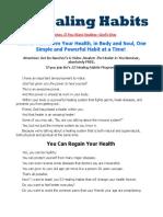 52 Healing Habits