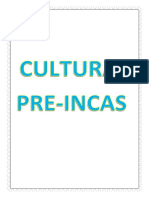 Culturas Pre Incas -2