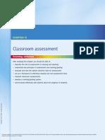 Educational Psychology Second Australian Edition ---- (Chapter 13 Classroom Assessment)