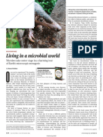 Living in a microbial world