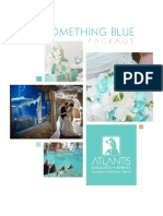 Something Blue Wedding Package