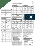 Calendario Licenciatura 2017B
