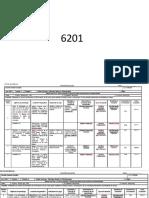Planes de Evaluaciones de PETROLOGIA Modulo II1