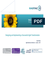 Reference for Ppt RADTAC ABC2011 Designing and Implementing a Successful Agile Transformation