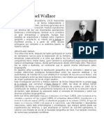 Alfred Russel Wallace Biografia