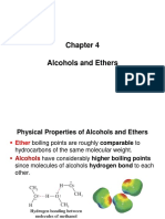 Chapter 4 COE Alcohols and Ethers