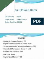 D155A Sensors Limitations and Fault Code
