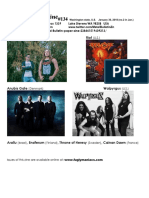 Metal Bulletin Zine 134