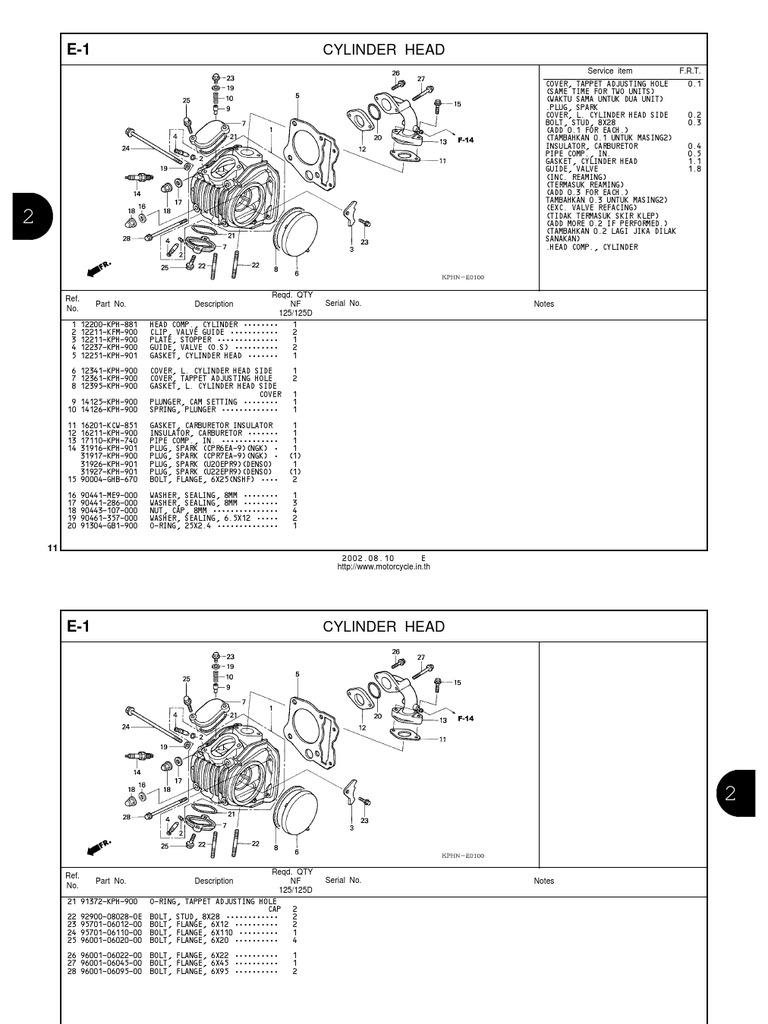 Honda Wave Parts Manual En | Piston | Clutch